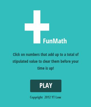 Fun Math Html5 Game