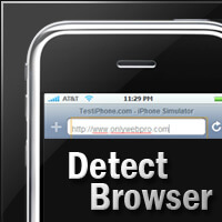 Detect Your Visitor's Mobile Browser