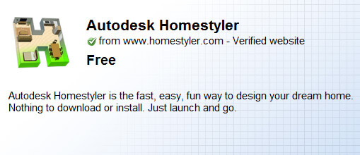 Launching of google chrome web store onlywebpro for Autodesk homestyler