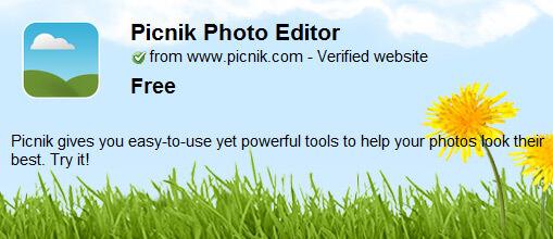 Picnik Photo Editor