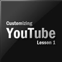 Customizing YouTube Player – Lesson 1
