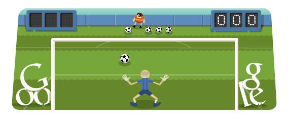 Google Soccer 2012