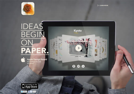 FiftyThree Home Page