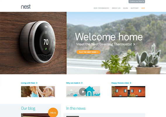 NEST Home Page
