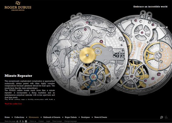 Roger Dubuis Product Page