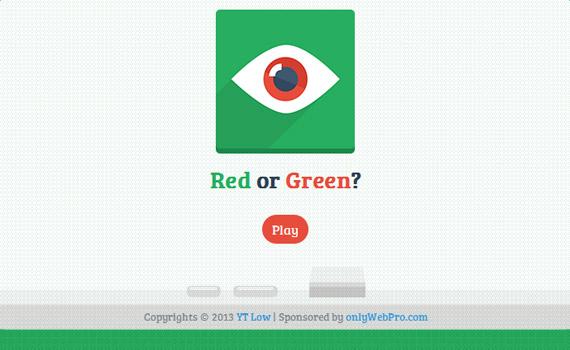 Red or Green? Game Screenshot