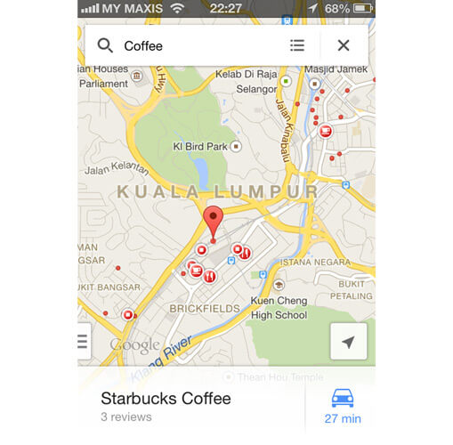 iOS Google Map with Query