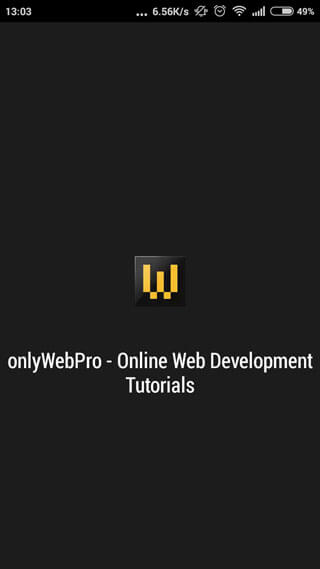 Build Full Screen Mobile Web App For Android Chrome | onlyWebPro